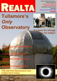 Volume 8: Issue 2 - Tullamore Astronomical Society