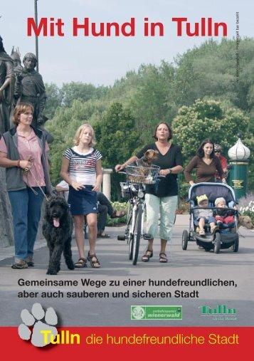 """""""Mit Hund in Tulln"""" herunterladen - Tulln an der Donau"""