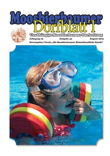 Das Dorfblatt'l erscheint im August - tullnerfeld-info