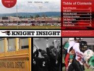 Knight Insight September 2012 - Tully School District