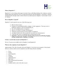 What is Hepatitis C? Hepatitis C is a liver disease that ranges in ...