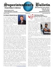 Dr. Ballard's Weekly Message The Heart of Tulsa - Tulsa Public ...