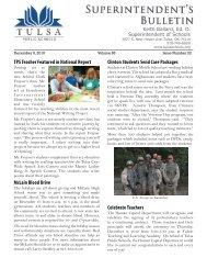 12/6/2010 - Tulsa Public Schools