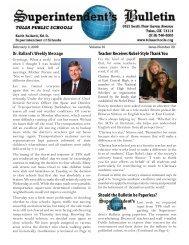 Dr. Ballard's Weekly Message Teacher Receives Nobel-Style Thank ...