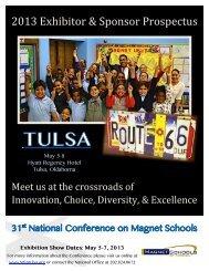 2013 Exhibitor & Sponsor Prospectus - Tulsa Public Schools