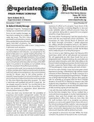 Dr. Ballard's Weekly Message - Tulsa Public Schools