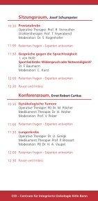 Einladung Samstag, den 9. Juli 2011 - Tumorzentrum Bonn eV - Page 4