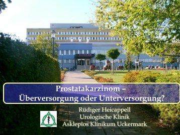 oder Unterversorgung - Tumorzentrum Land Brandenburg