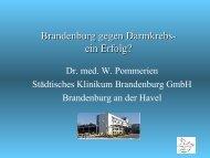 Tumorzentrum Land Brandenburg