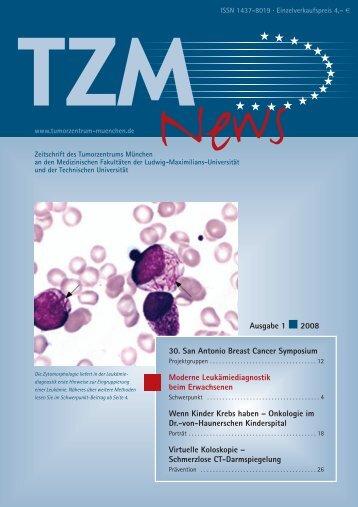 TZM News 01-2008 - Tumorzentrum-muenchen.de