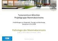 Pathologie des Mammakarzinoms - Tumorzentrum-muenchen.de