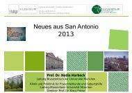 Neues aus San Antonio 2013 - Tumorzentrum-muenchen.de