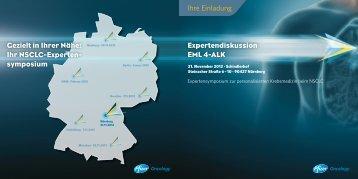 Expertendiskussion EML 4-ALK Ihre Einladung Gezielt in Ihrer Nähe ...