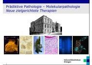 Die Histopathologie als prädiktiver Faktor beim ... - Tumorzentrum