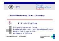 Radiologisches Institut / Gyn. Radiologie - Tumorzentrum Erlangen ...