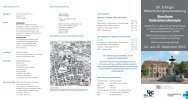 Programm der Veranstaltung - Tumorzentrum - Universitätsklinikum ...