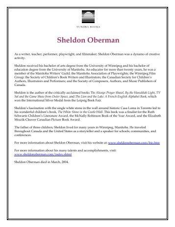 Sheldon Oberman - Tundra Books