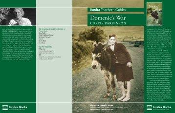 Domenic's War - Tundra Books