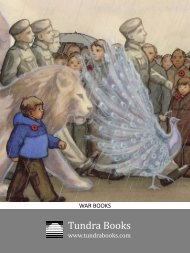 Books on War - Tundra Books