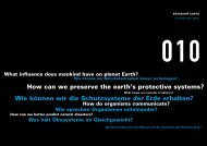 How can we preserve the earth's protective systems? - Túnel de la ...
