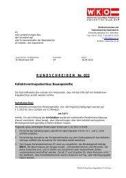 Gehaltstagel 2013 - Landesinnung Bau