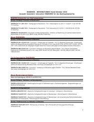 ÖNORMEN – INFORMATIONEN Stand Oktober 2010 Auswahl ...