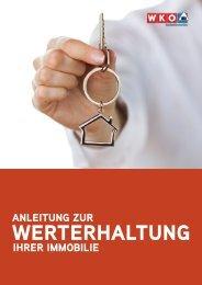 Anleitung zur Werterhaltung Ihrer Immobilie