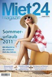 häuser auf Miet24.de Sommer- urlaub 2011