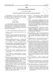 Rozporządzenie Ministra Finansów z dnia 28 grudnia 2009 r. w ...