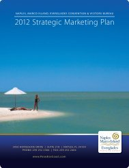 Strategic Marketing Plan FY 2012 - Naples, Marco Island & Everglades