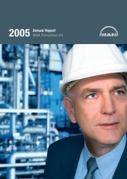 MAN Ferrostaal Annual Report 2005