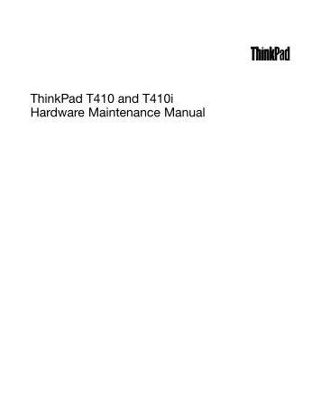 thinkpad t400 and r400 hardware maintenance manual lenovo rh yumpu com Lenovo ThinkPad W500 Lenovo W500 Screen Resolution