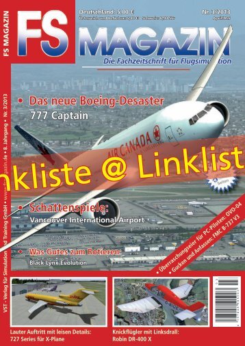 Linkliste zum FS MAGAZIN 3/2013