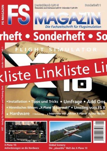 Sonderheft • Sonderheft • Sonder - FS Magazin