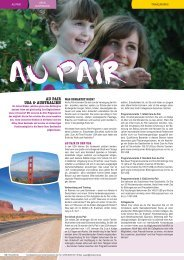 AU PAIR USA & AUSTRALIEN - TravelWorks
