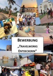 BEWERBUNG - TravelWorks
