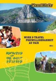 work & travel freiwilligenarbeit au pair alte n - TravelWorks