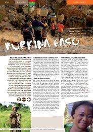 Freiwilligenarbeit Burkina Faso - TravelWorks