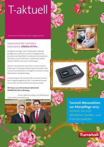 unserem Messe-Newsletter zum Download - Tunstall GmbH