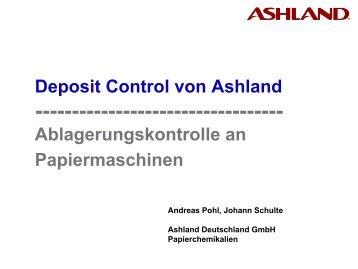 Ablagerungskontrolle an Papiermaschinen - gernsbacher-meister.de