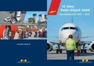 Geschäftsbericht - Baden Airpark