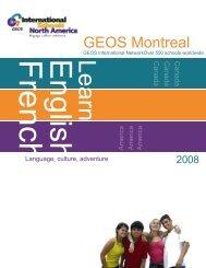 05 - brochure school 2008 - GEOS Montreal