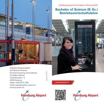 Bachelor of Science (B. Sc.) Betriebswirtschaftslehre - Hamburg