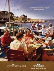2009 Tourism Partnerships and Programs - Nova Scotia