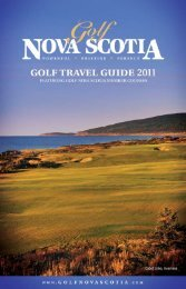 Golf Travel Guide 2011 - Nova Scotia