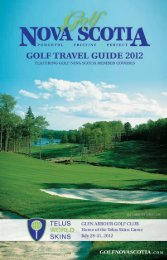 Golf Travel Guide 2012 - Nova Scotia