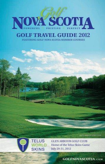 Golf Travel Guide 2012 - Nova Scotia