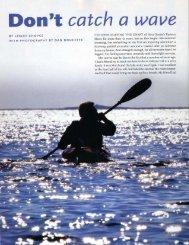 Don't catch a wave - Nova Scotia
