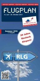 Flugplan Sommer 2013 (aktualisierte 2. Ausgabe) - Flughafen ...