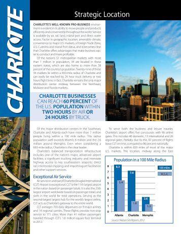 Strategic Location - Charlotte Chamber of Commerce